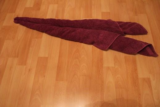 handtuch falten schwan
