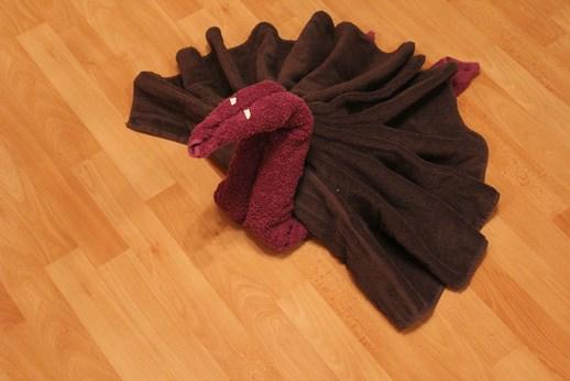 Gut bekannt Einen Schwan aus Handtüchern falten | Handtücher falten YJ87